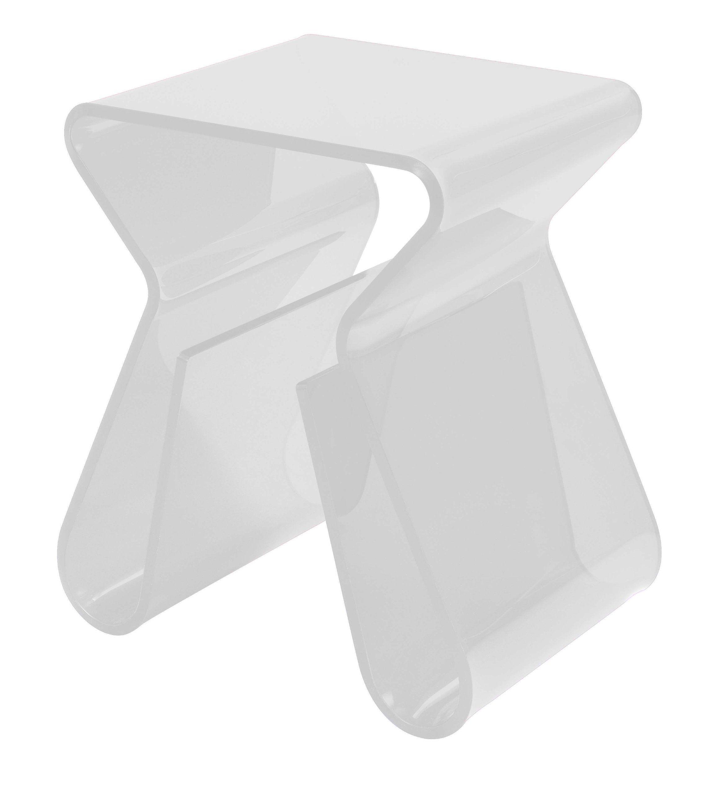 Transparent Polycarbonate End Table Furniture