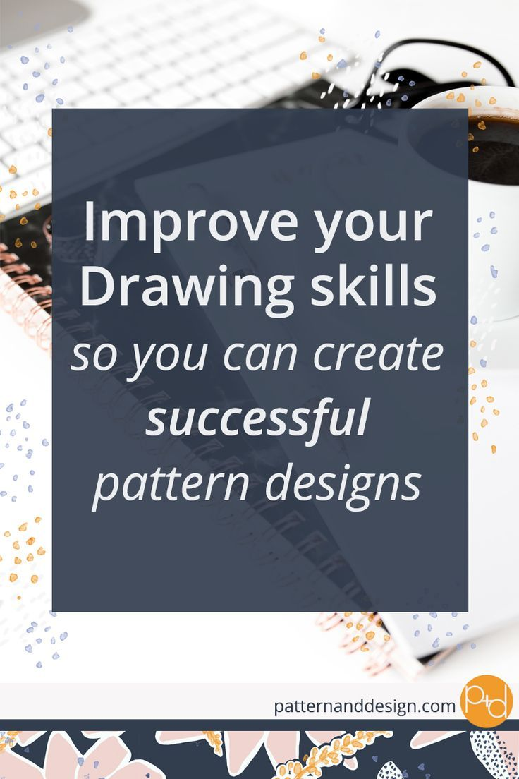 Learn to create surface pattern designs #textiledesign