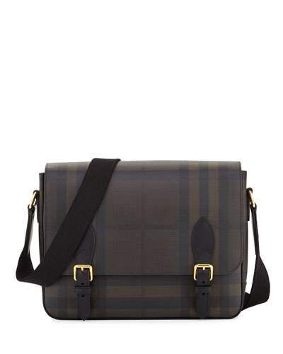1ab27939d28f Hendley Check Messenger Bag