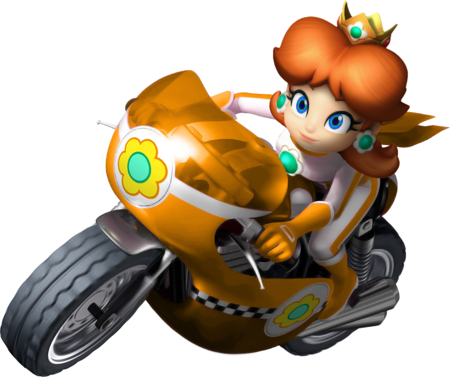 mario kart wii daisy bike by on deviantart mario pinterest. Black Bedroom Furniture Sets. Home Design Ideas
