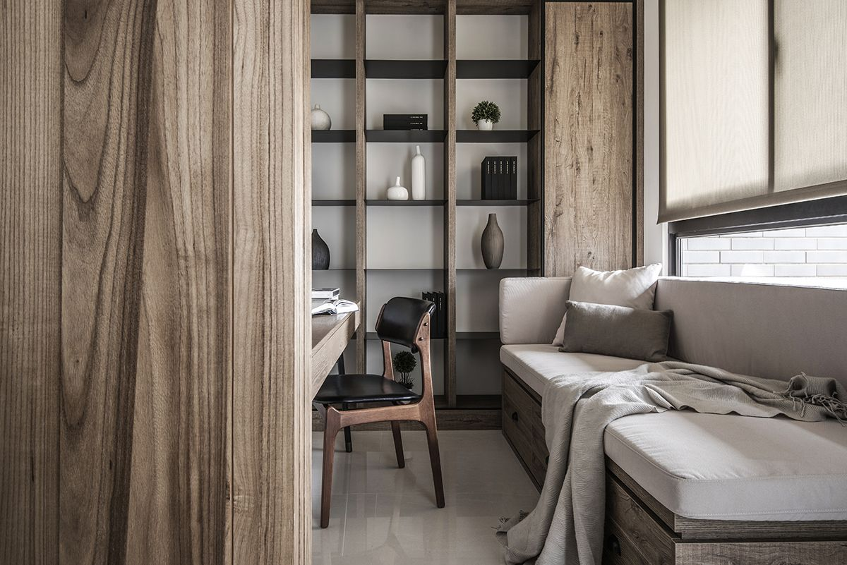 A Modern Nature Inspired Home in Taiwan | Rue | Home Office ...