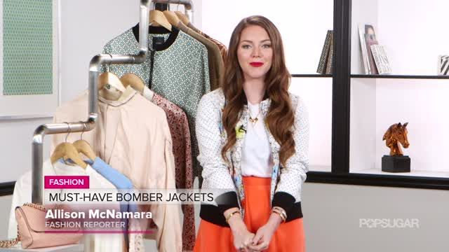 VIDEO: Trend Alert: The Bomber Jacket Is Back - http://article-first.com/women-only/womens-fashion-women-only/video-trend-alert-the-bomber-jacket-is-back/