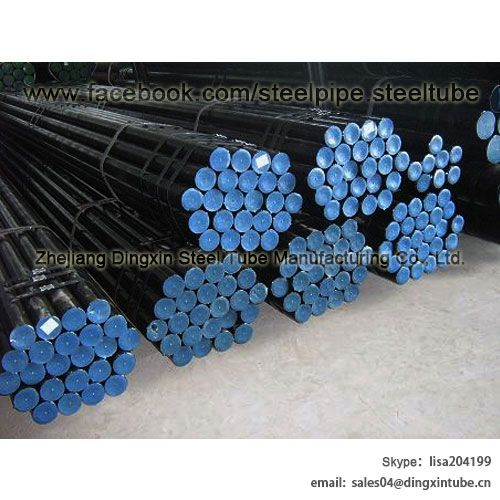 DIN Black Phosphating Hydraulic Seamless Carbon Steel Tubes With High Precision