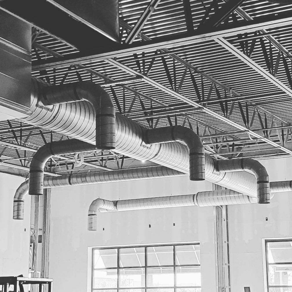 Columbus Heating Ventilating On Instagram If Your An Hvac Sheet Metal Worker You More Than Likely Look Up Whenever You In 2020 Duct Work Sheet Metal
