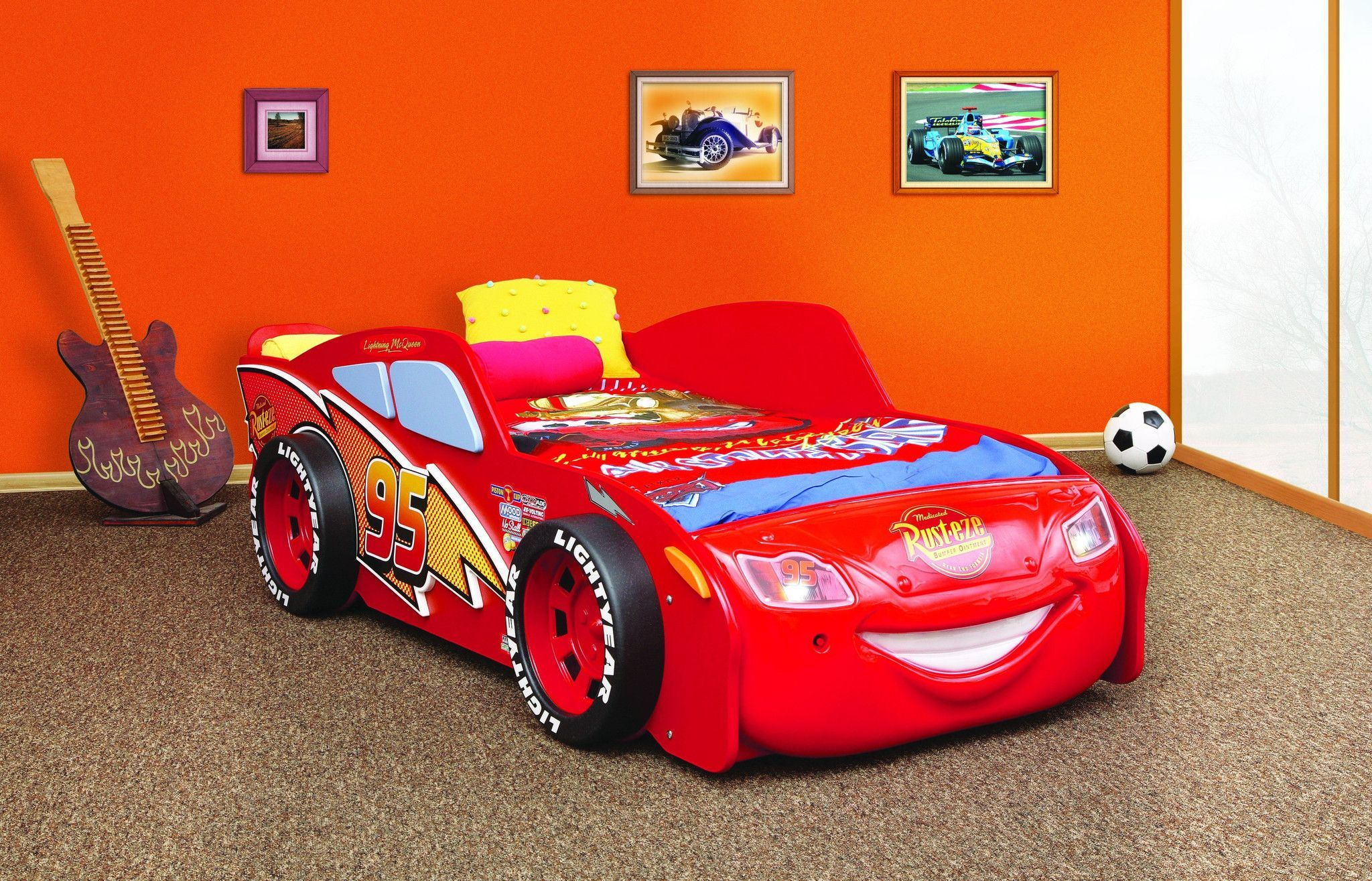 a366abf9081 Lightning McQueen Bed | Luxury Cars | Lightning mcqueen bed ...