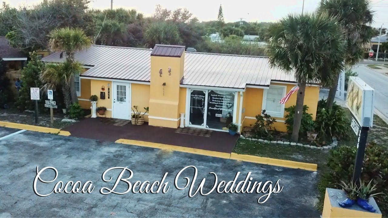 Cocoa Beach Weddings YouTube Cocoa beach, Cocoa, Beach