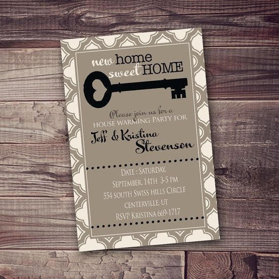Open House Invitation New Home Or Any Occasion Free Wording Customization Open House Invitation House Party Invitation Housewarming Party Invitations