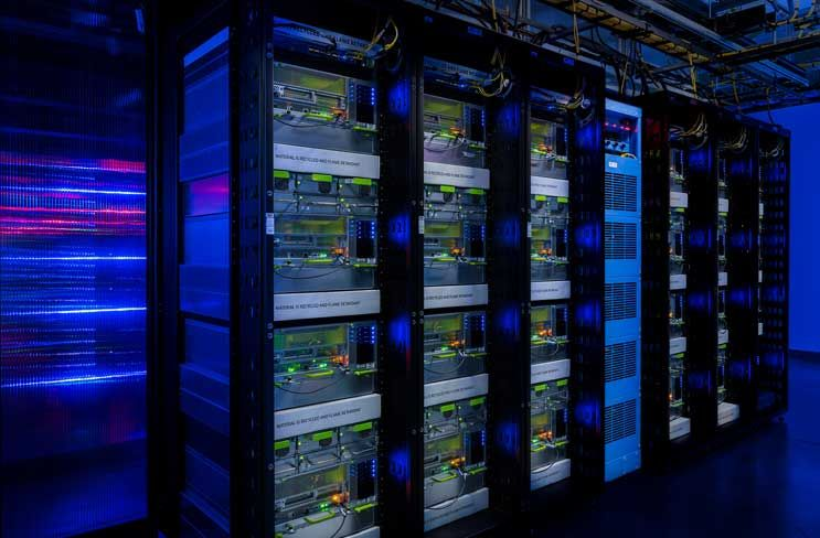Racks Packed With Big Sur Servers Inside The Facebook Data Center