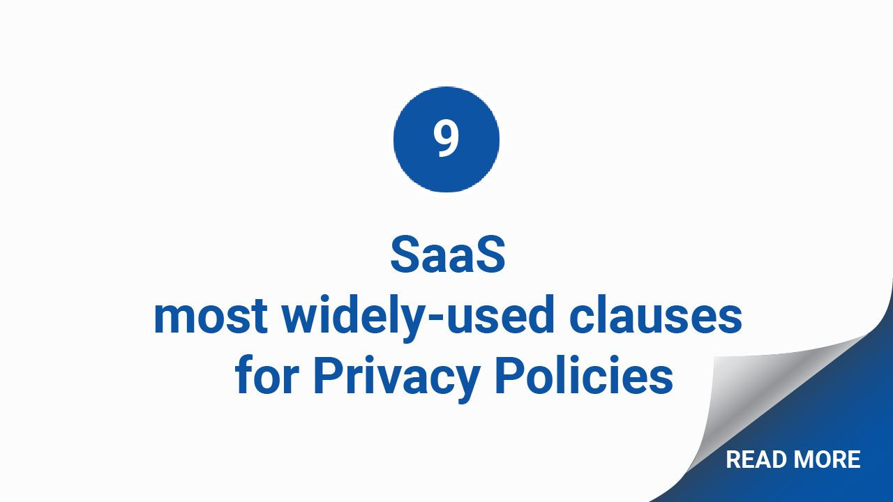 What Clauses Can You Expect To See In Almost Every Saas App Privacy Policy Privacy Policy Policies Saas