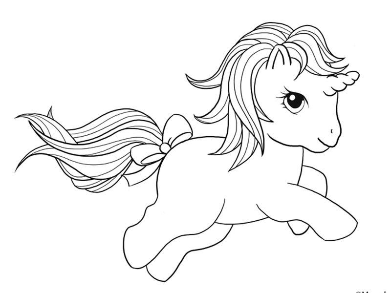 Dibujos De Unicornios Para Colorear La Mejor Recopilacion