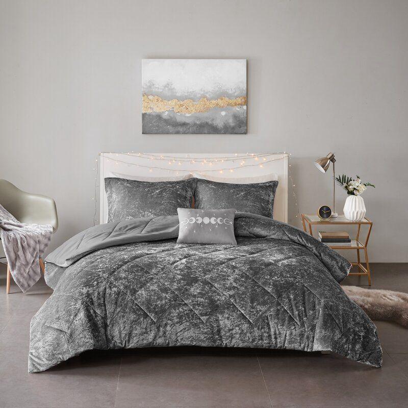 Nussbaum Comforter Set in 2020 Comforter sets, Velvet