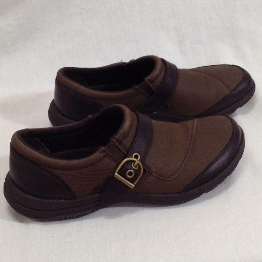 c85f83de40e6 Merrell Sz 6 Char Brown Select Fresh Grip Clogs Mules Performance Shoes  Womens  Merrell  Clogs