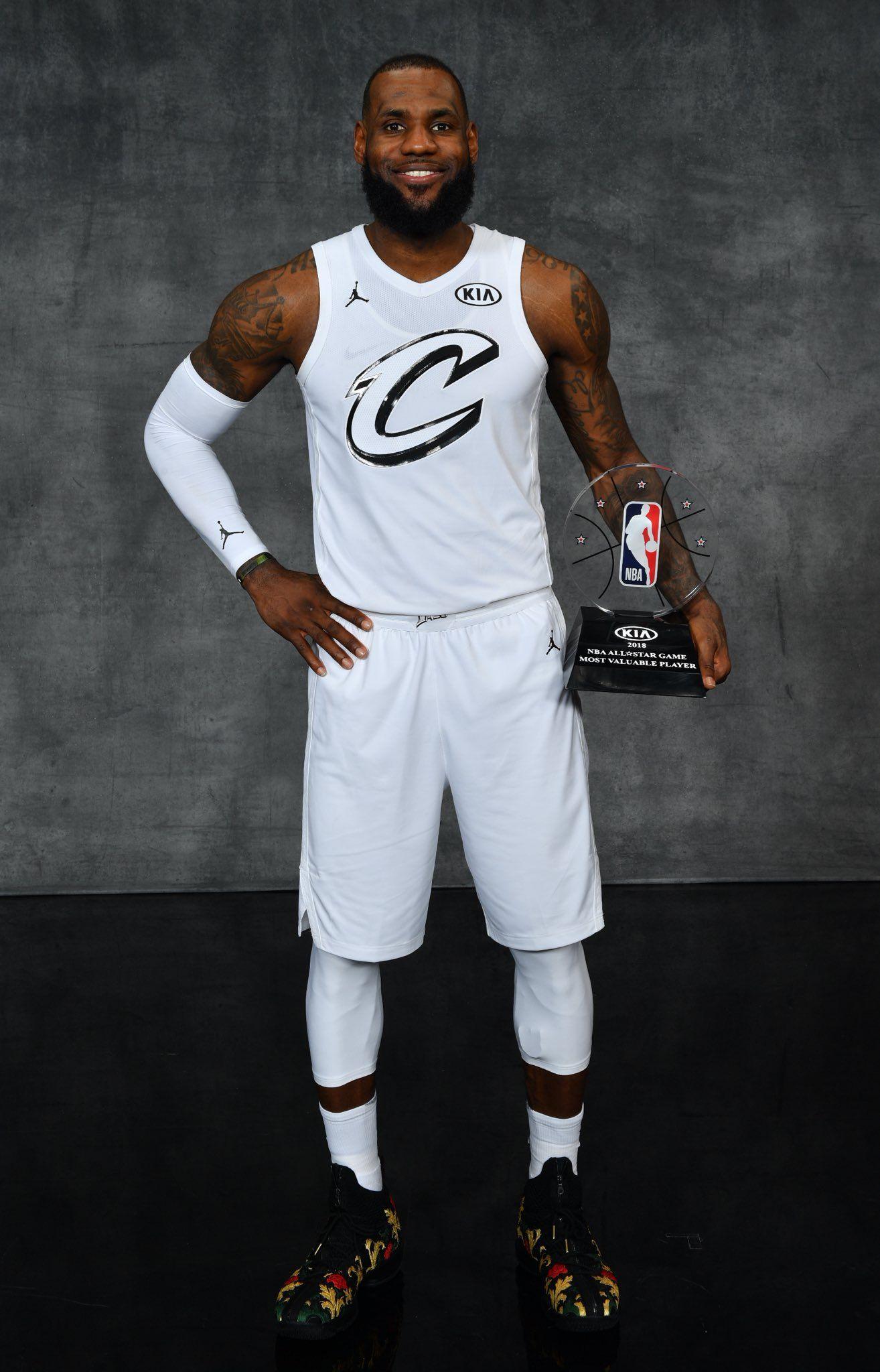 30cf62e91 LeBron 2018 All Star MVP