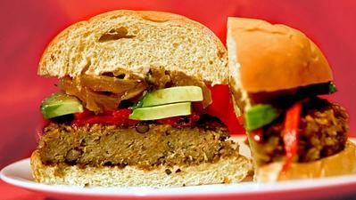 LA Times - Culinary SOS: Upper West's roasted veggie burger