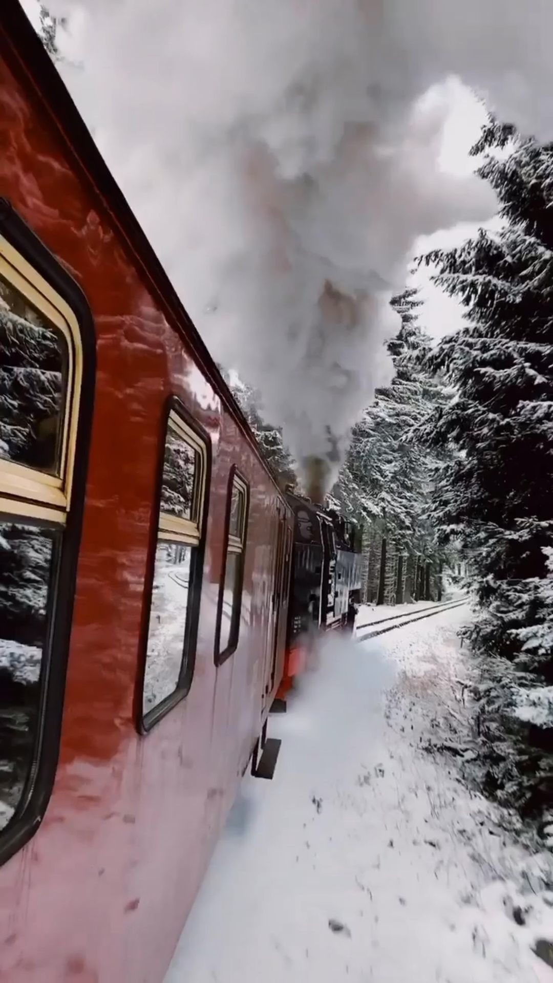 Wonderful Places On Instagram To Hogwarts Off We Go Tag Your Friends Vid By Evolumina Won Winter Photography Iphone Wallpaper Winter Train