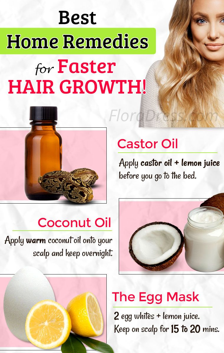 Best Home Remedies for Faster Hair Growth! Tips and