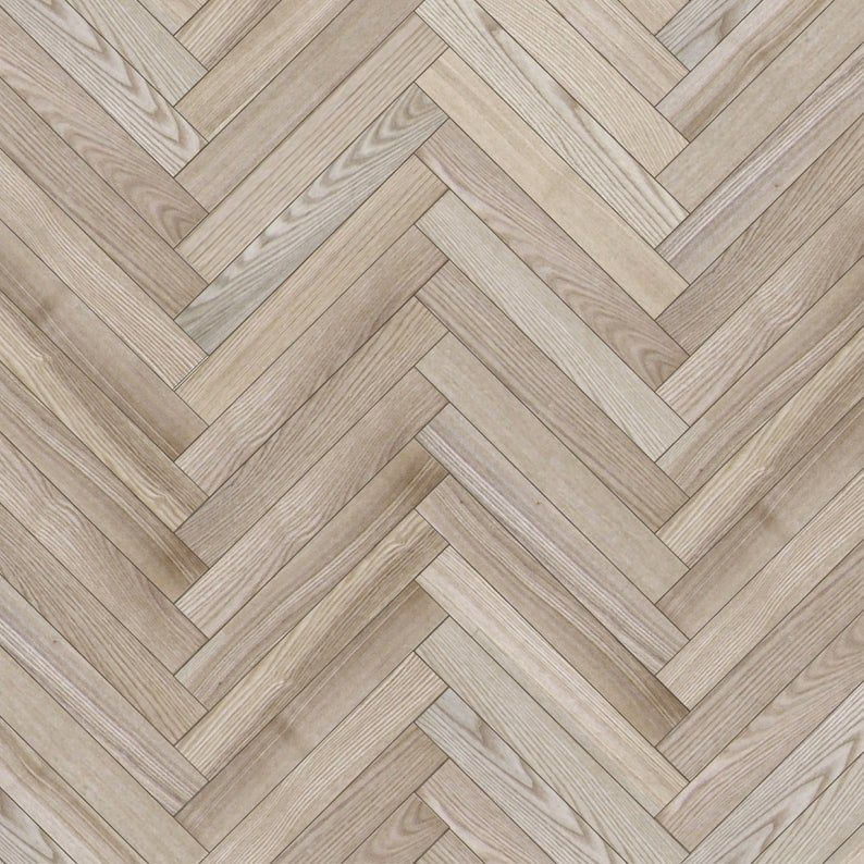 Dollhouse Flooring 1 12 Herringbone Light Wood Parquet Etsy In 2020 Flooring Herringbone Wood Floor Wood Floor Texture