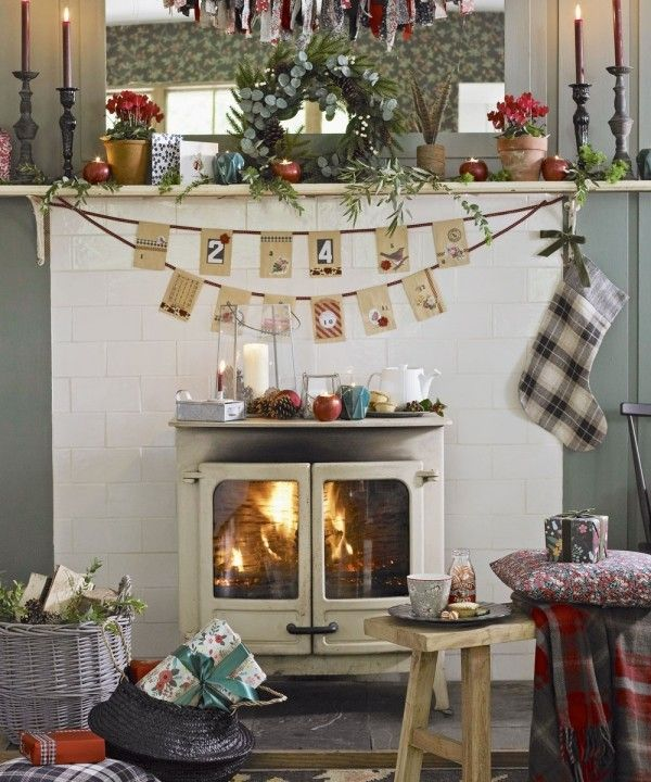 Weihnachtsdeko Im Landhausstil weihnachtsdeko landhausstil gemütliche atmosphäre küche