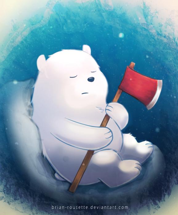 We Bare Bears - Baby Ice Bear by Brian-Rousette on DeviantArt