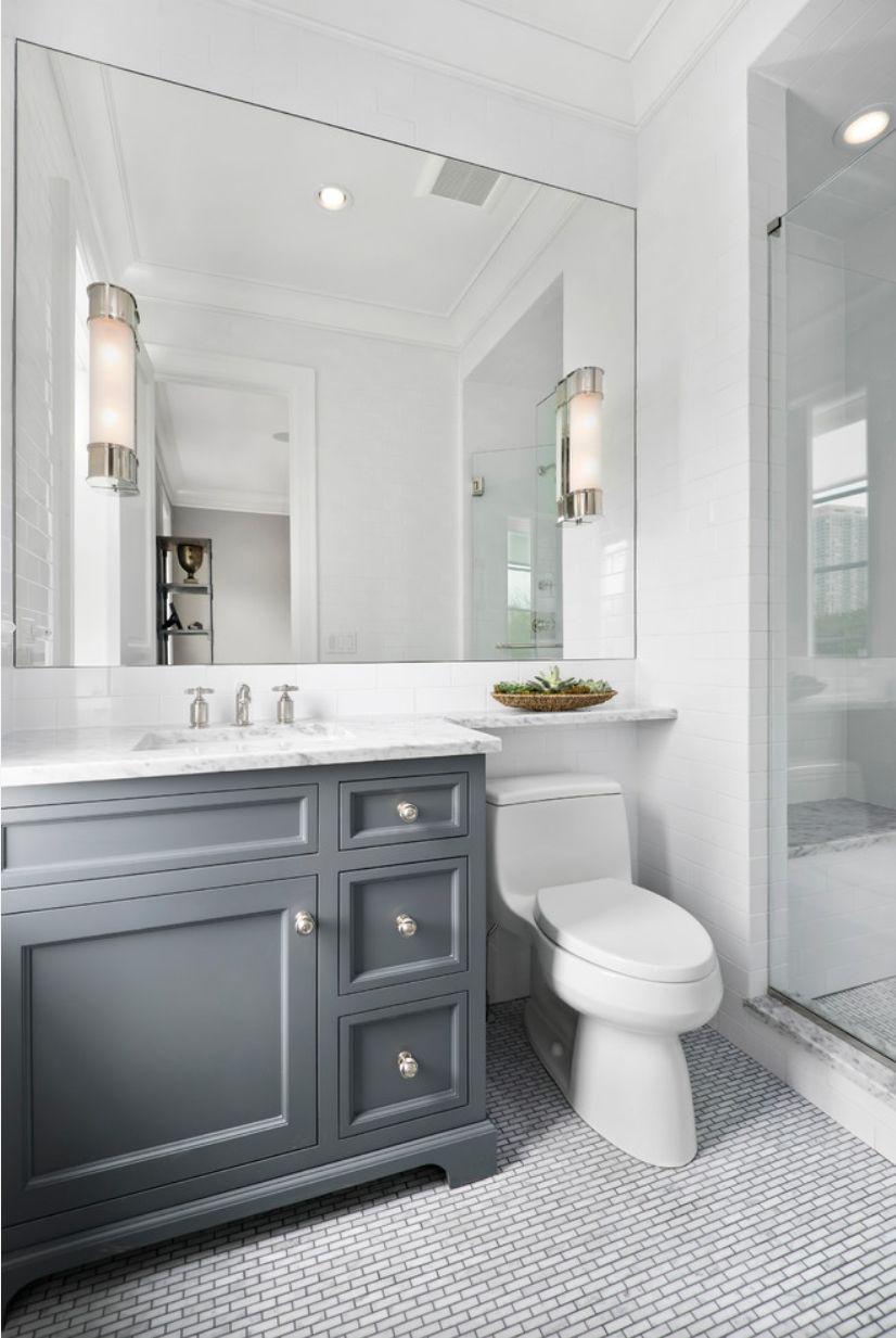 Pin von Linda Carlson-Hewitt auf Small bathroom | Pinterest