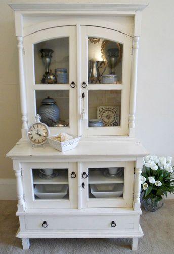French Provincial Gl Door Sideboard Display Cabinet Kitchen Dresser In Sydney Nsw Ebay
