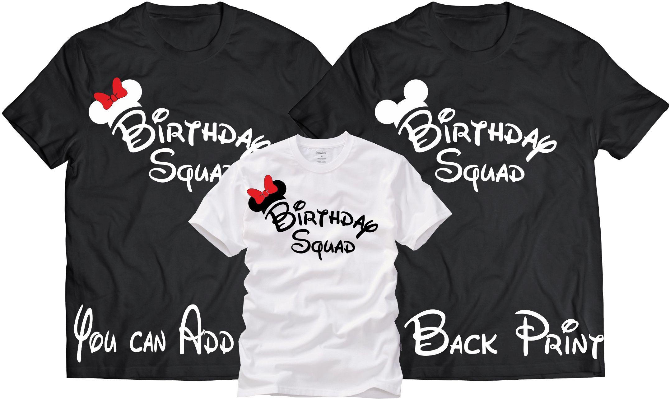 The Birthday Squad tees,Birthday shirt,Birthday Squad