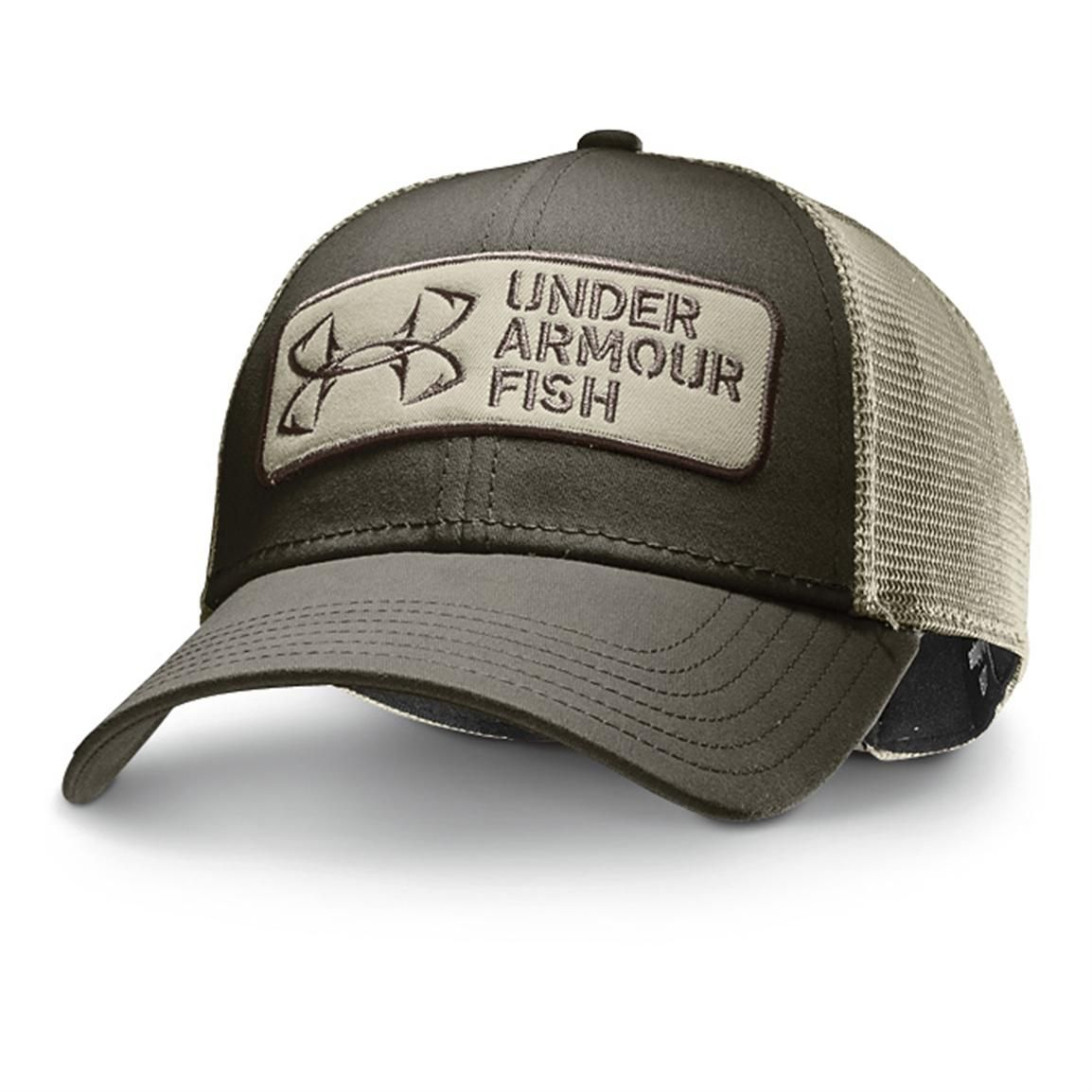 Under Armour® Fish Hook Patch Hat ced8e658abd