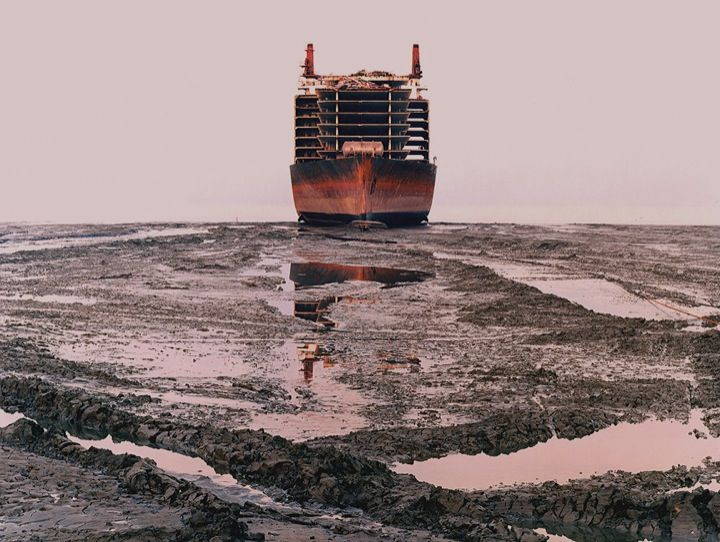WHERE DO OLD SHIPS GO WHEN THEY DIE?