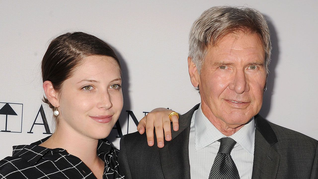 Harrison Ford Reveals His 26-Year-Old Daughter Has Epilepsy: 'She's My Hero'.  The 'Star Wars' star said his daughter, Georgia, thankfully hasn't had a seizure in eight years.