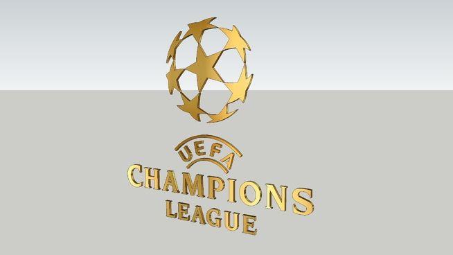 logo uefa champions league 3d warehouse champions league uefa champions league league logo uefa champions league 3d