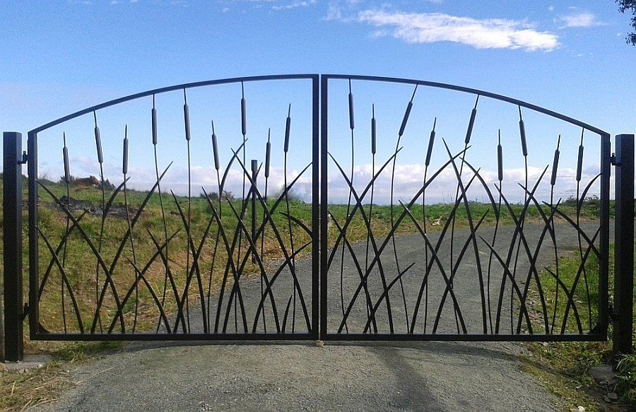 Adam Styles Creative Metal Custom Metal And Wrought Iron Gates And Fencing Nelson Nz Wrought Iron Gate Designs Metal Gates Wrought Iron Gates