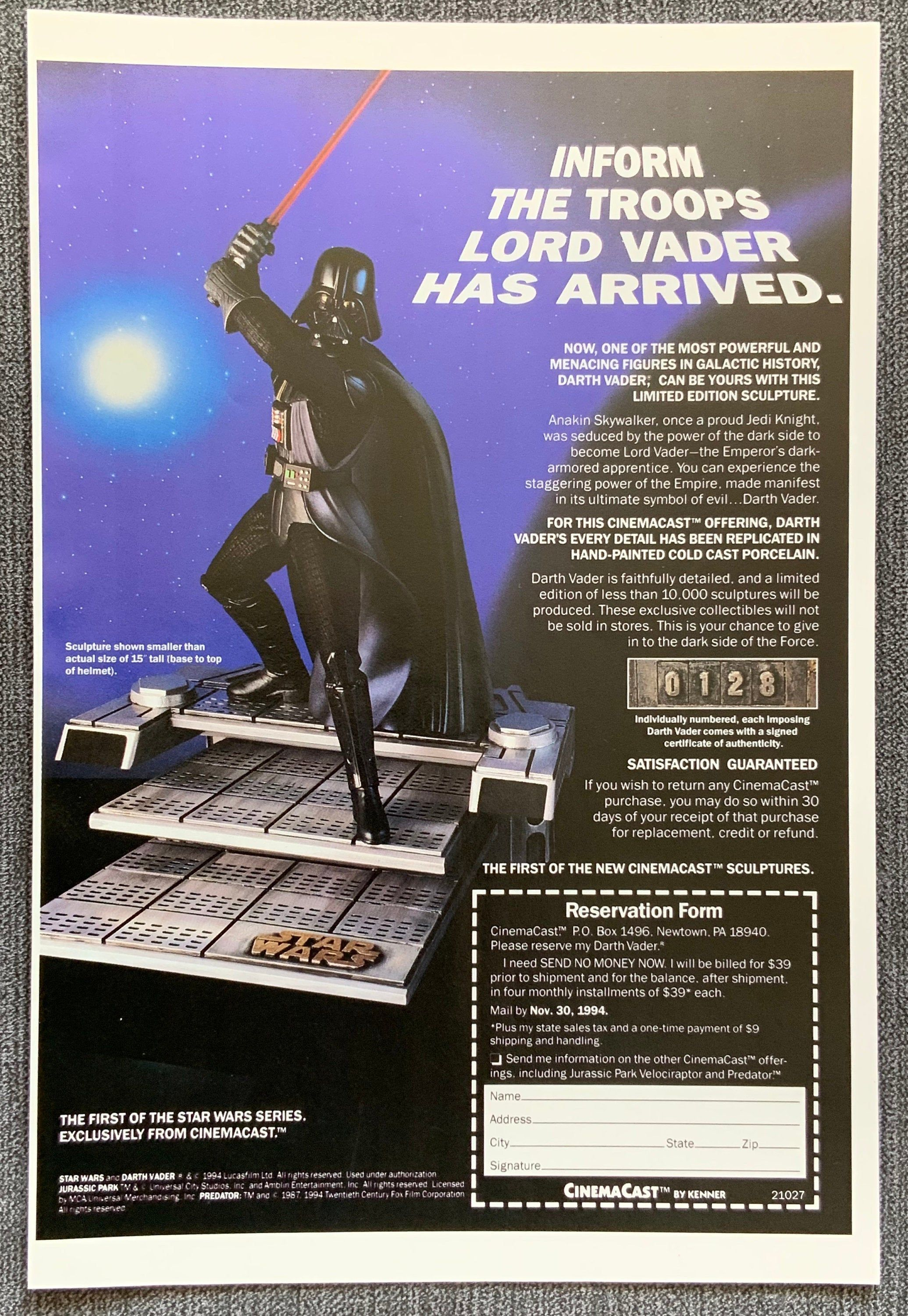 pin on star wars vintage adverts posters prints pinterest