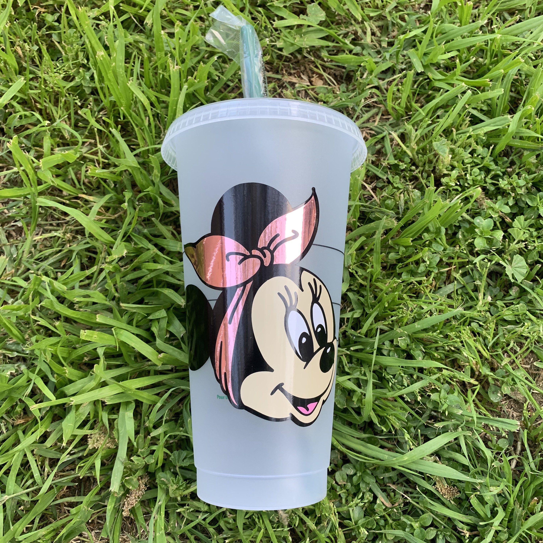 Minnie Mouse Starbucks Glitter Cup