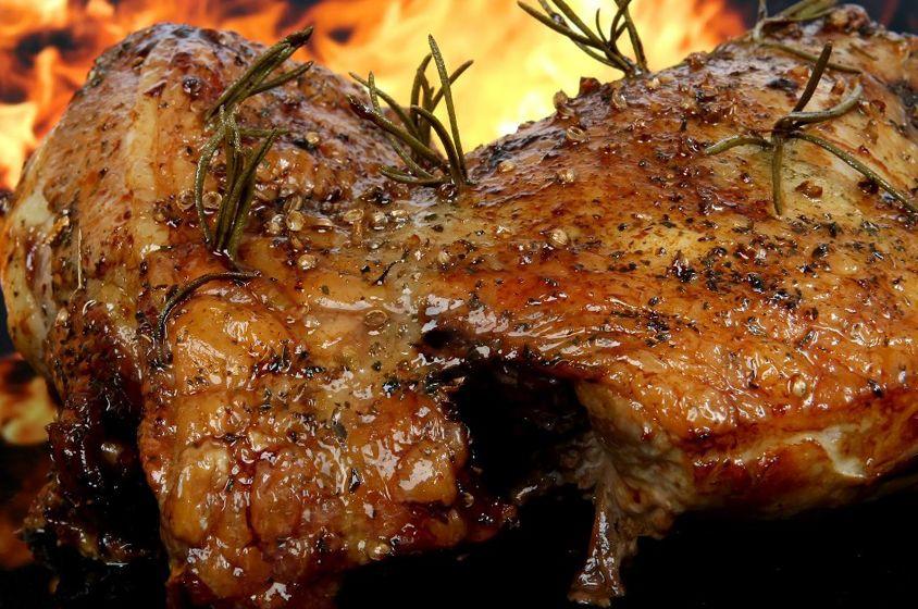 مطعم حدوتة مصرية في دبي Food Pork Meat