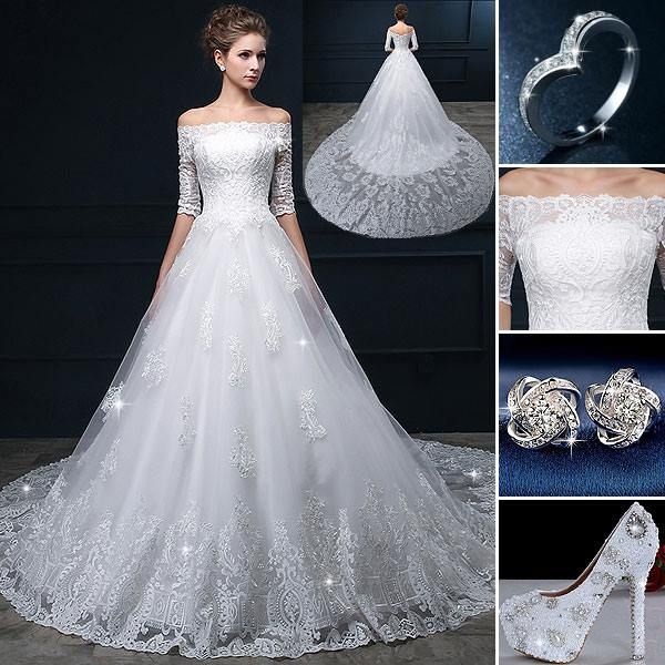 Is This Your Dreaming Wedding Dress BridalDress BridalGown