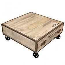 Resultado de imagen para mesas de centro de madera con cajones