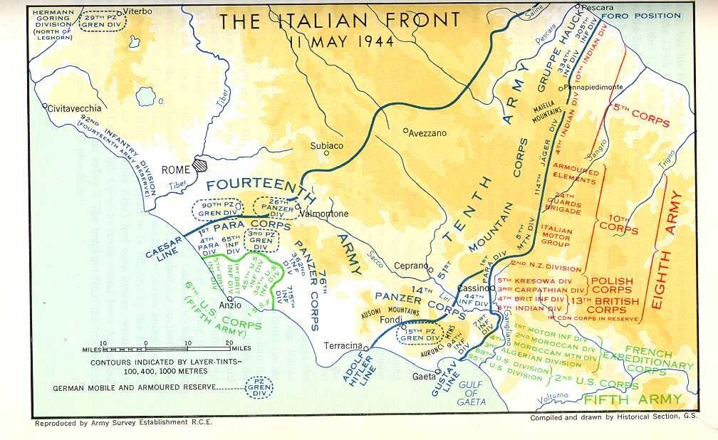 Op Shingle Battle Of Anzio Began On January 22 1944 With The