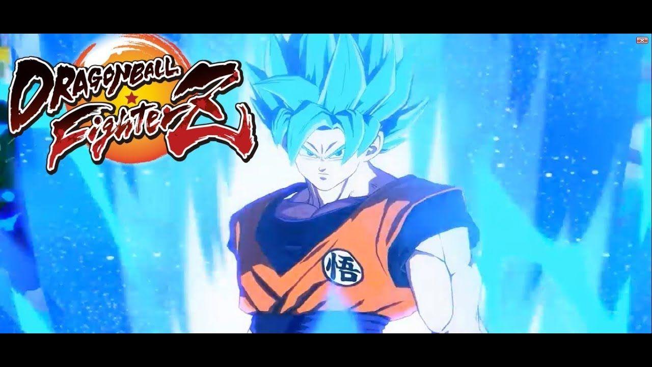 Dragon Ball Fighterz New Trailer Super Sayain Blue Goku Vegeta Gameplay Video Playstation4 Ps4 Sony Videogames Pla Dragon Ball Goku And Vegeta Goku