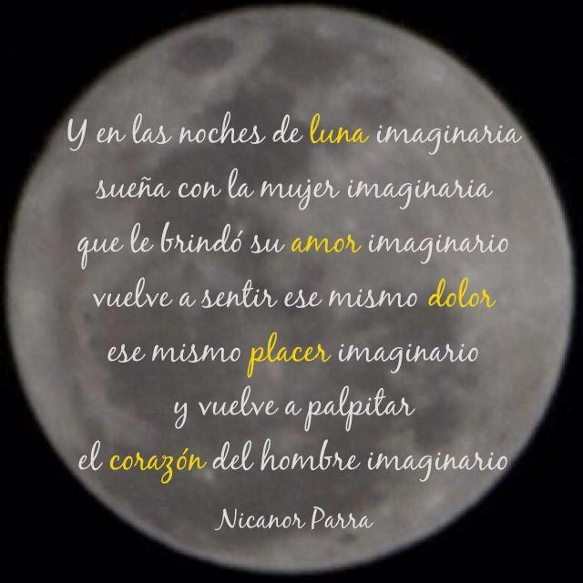 Nicanor Parra El Hombre Imaginario Nicanor Parra Poesía Y