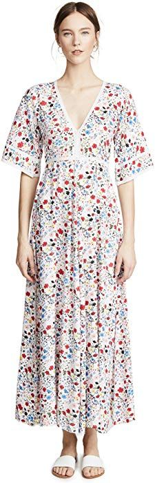 77bc29aebc Kos Resort Women s V Neck Maxi Dress