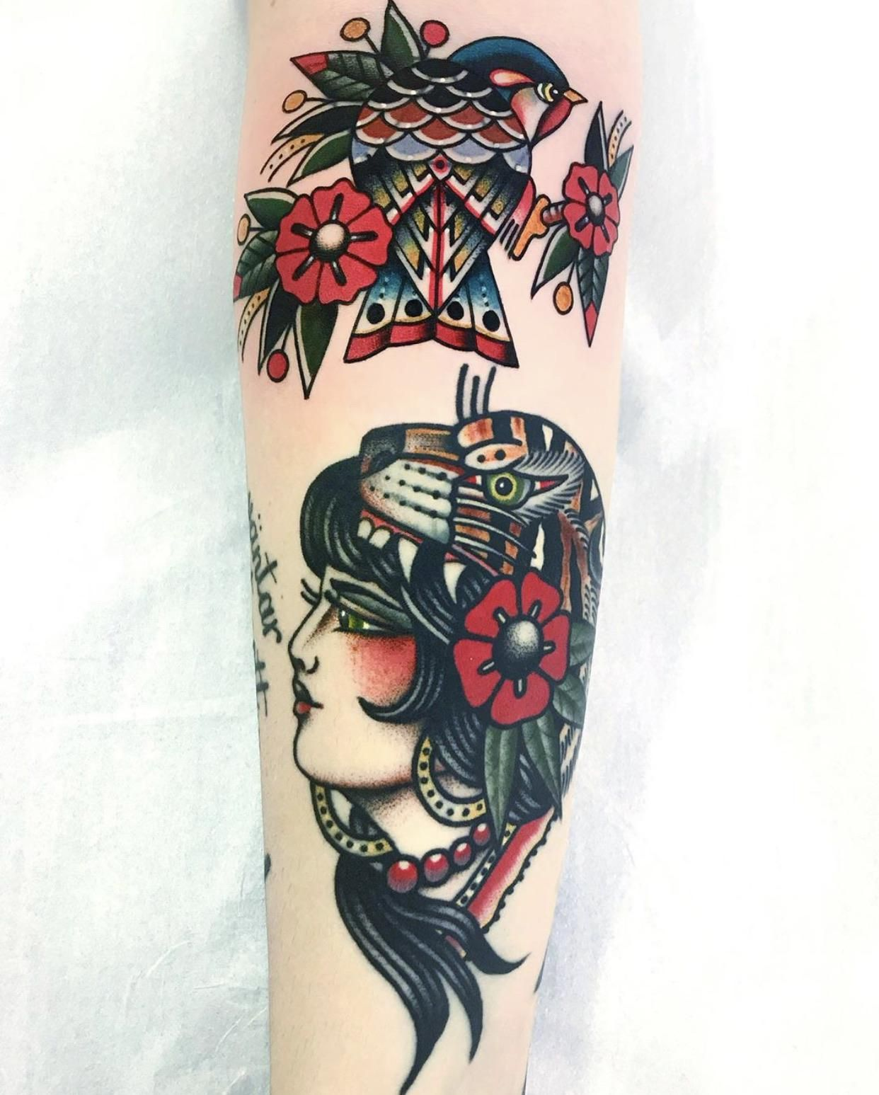 The Bird Is My Second Tattoo By Dani Queipo Done At Sang Blue Tattoo Dalston London Uk Blue Tattoo Tattoos Flower Tattoo