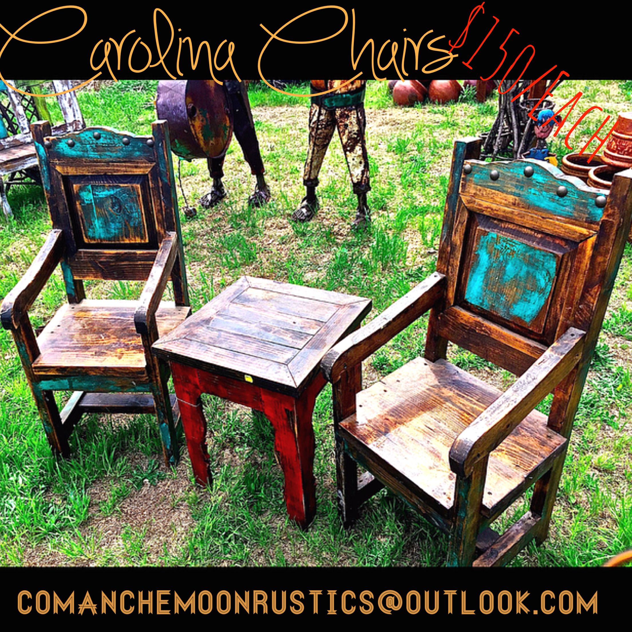 Hacienda Rustic Furniture By Comanche Moon :) These Are The Gorgeous Carolina  Chairs Available For