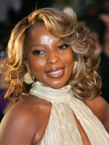 Pictures Mary J Blige Hairstyles Mary J Blige Short Haircut With