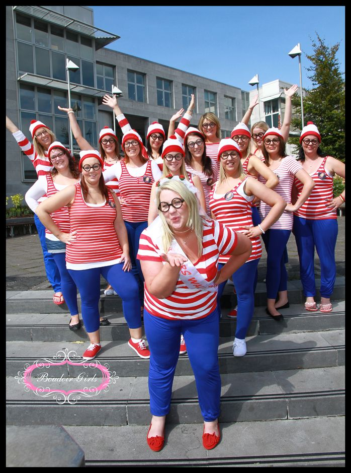 a4bd8703930 Where s Wally Hen Do - what a great idea!!