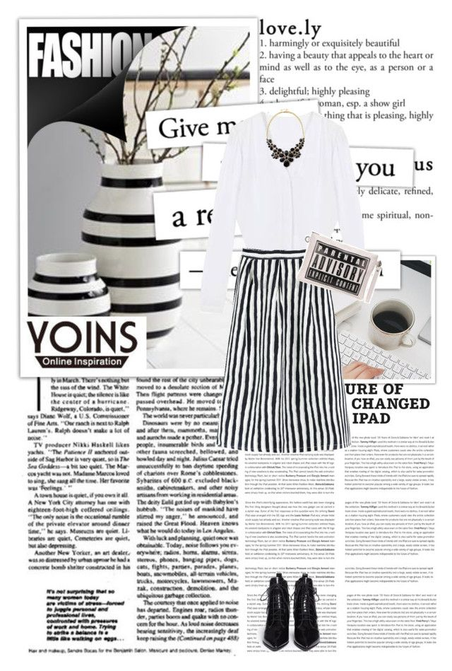 """""""Yoins 47"""" by emina-turic ❤ liked on Polyvore featuring Kähler, Marc by Marc Jacobs and yoins"""