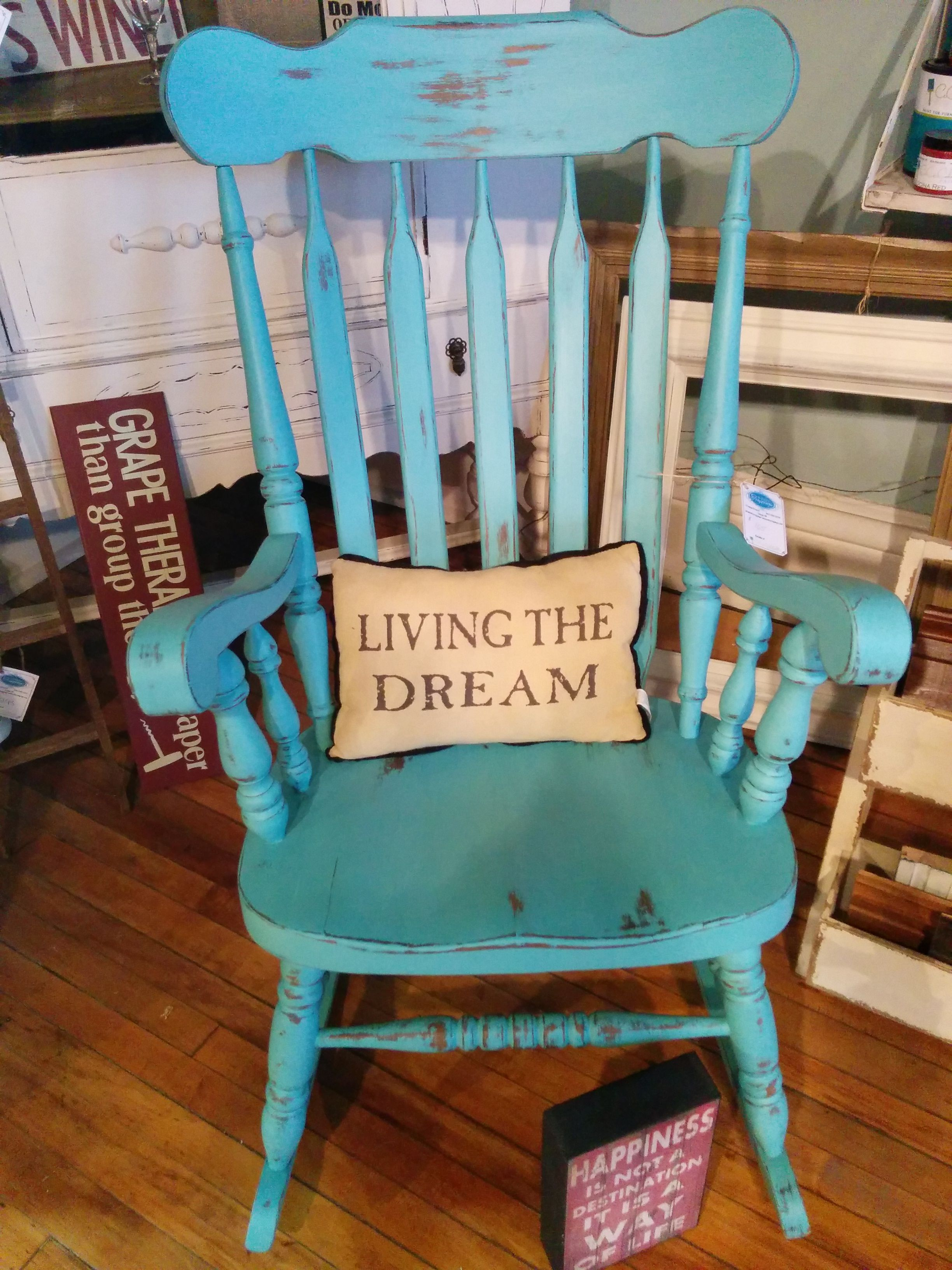 aqua adirondack chairs posture comfort chair den-tal-ez turquoise rocking baby room ideas pinterest