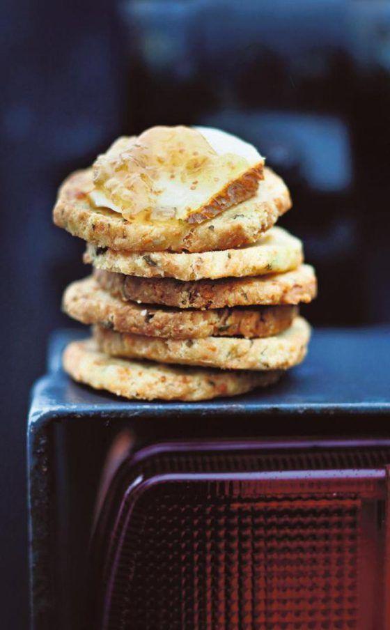 Sitruuna-parmesaanikeksit resepti / Lemon parmesan cookies (recipe in Finnish)