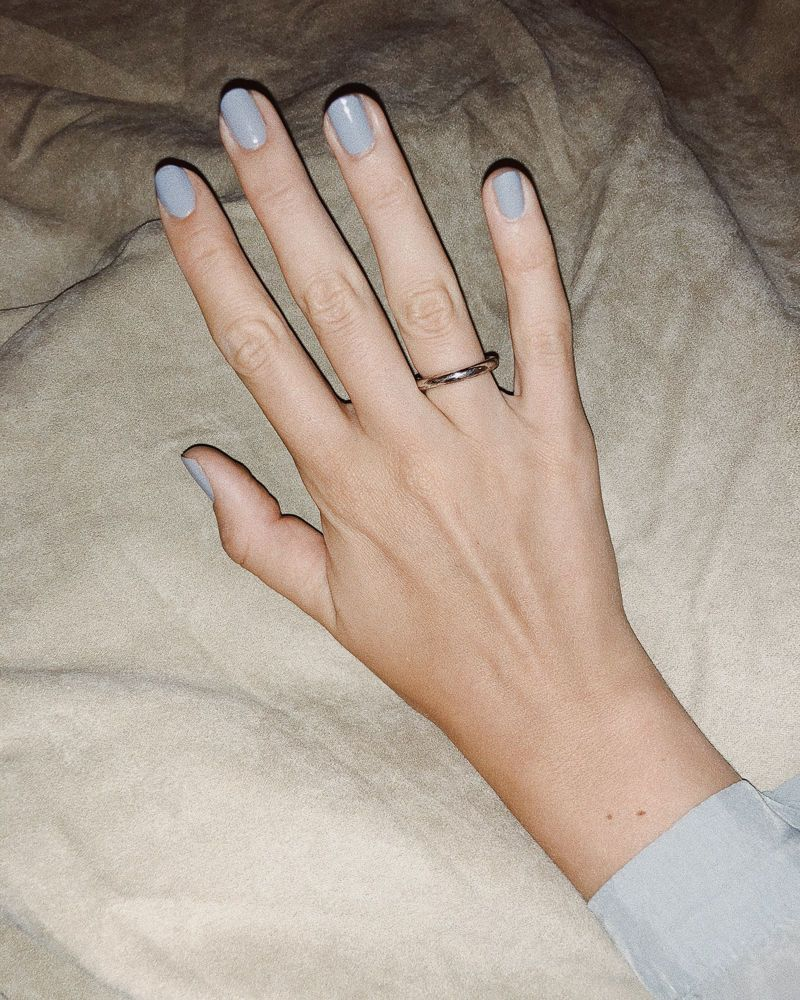 Gelcream On Her Favorite Muted Nail Colors