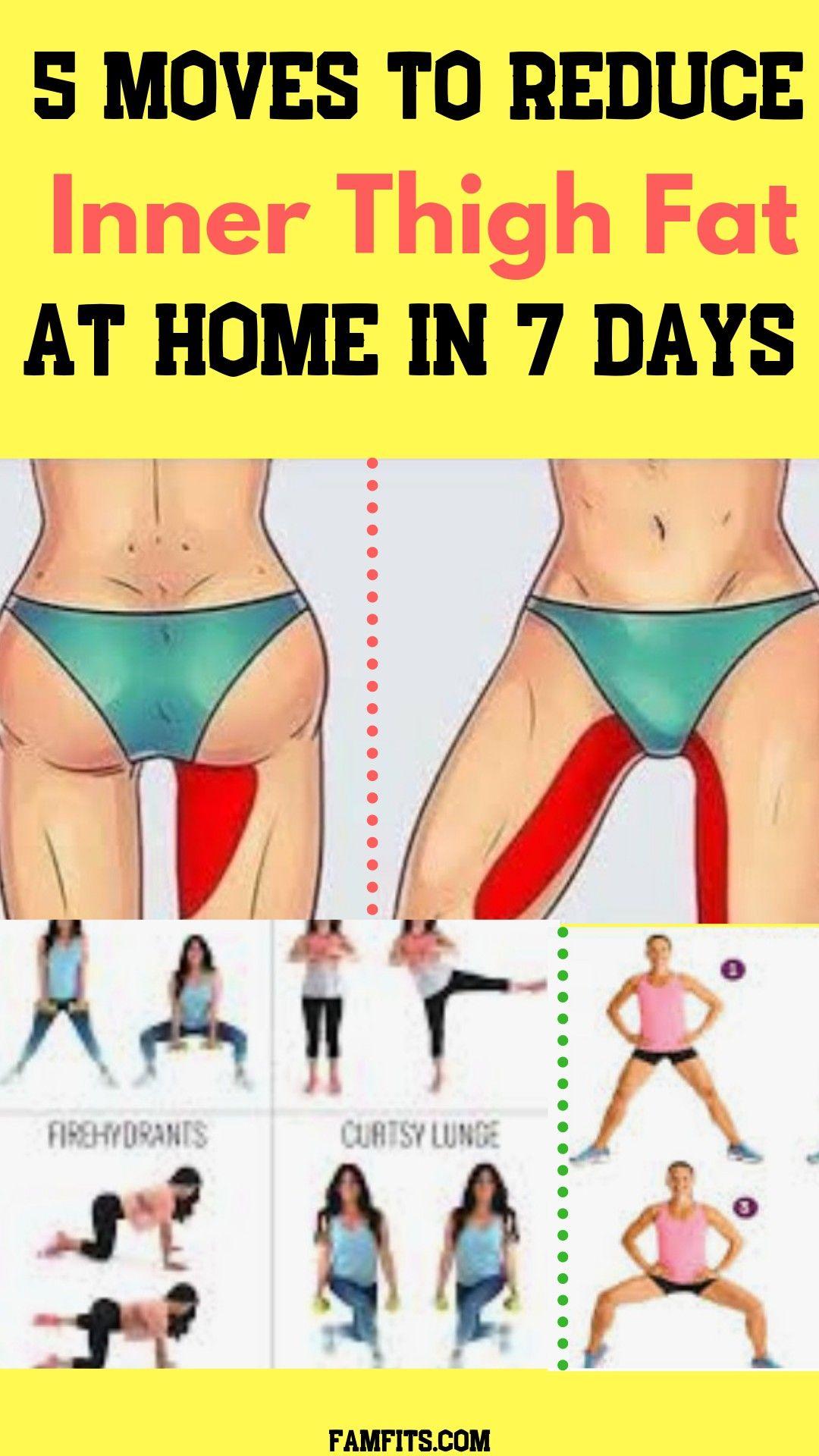 exercises to remove upper leg fat