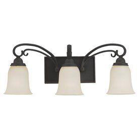Sea Gull Lighting�3-Light Del Prato Chestnut Bronze Bathroom Vanity Light..Lowes